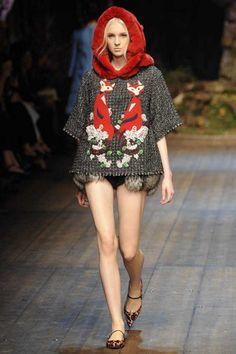 Dolce & Gabbana Winter 2015 Collection #MFW #AW14  #FashionWeek 2014 rtw, fall 2014, 2014 readytowear