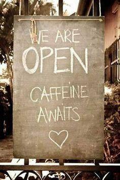 Caffeine Awaits <3