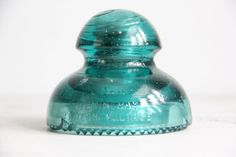 vintage Hemingray glass insulator