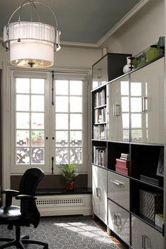 home office // IKEA Besta
