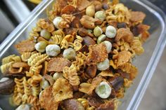 Crunchy Ramen Snack Mix (Thrifty Thursday) - The Candid RD