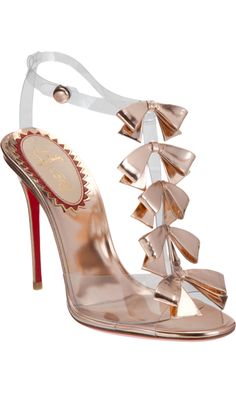 Christian Louboutin Bow Bow [CELE00701] - $216.60 : Discounted Christian Louboutin,Jimmy Choo,Valentino Shoes Online store