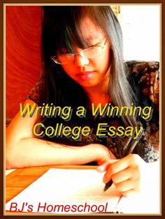 BJ's Homeschool - Our Journey Towards College: First College Classes & Tips for the College Essay