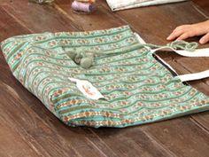 Manualidades y Artesanías | Bolso de tela | Utilisima.com