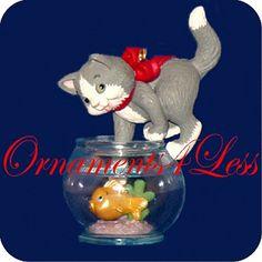 Hallmark 1999 Colorway Mischievous Kittens #1 - QX6427C