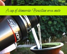 A cup of chimarrão (Brazilian erva-mate) : the piri-piri lexicon