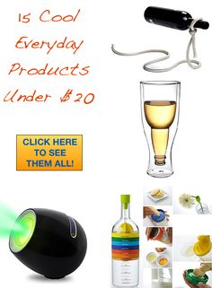 A list of 15 fun everyday products that you can get for under $20!