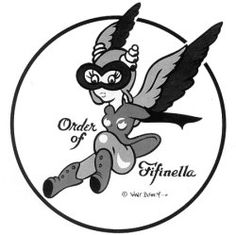 WASP: Women Airforce Service Pilots logo created by Walt Disney during World War II  -AWESOME!!!!