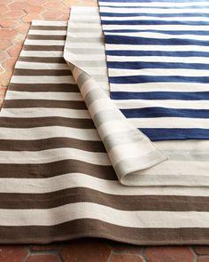 Seaside Stripe Outdoor Rug,
