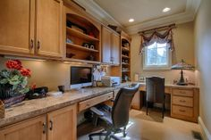 A perfectly functional and compact home office. Knoxville, TN Coldwell Banker Wallace & Wallace, Realtors $929,500