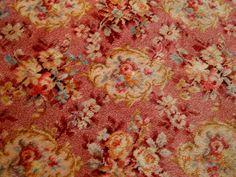 rosebrook cottag, mae rosebrook, rug tapestri, multicolor rug, rose medallion