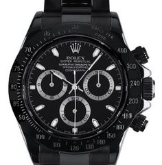 Black Rolex Daytona