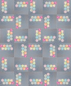 I want to make this one in a different color scheme - Modern hexagon quilt - tutorial at http://reannalilydesigns.com/2010/11/modern-hexagon-block-tutorial/