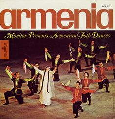 Armenian Folk Dances by Armenian Song and Dance Ensemble - Armenian Folk Dances presents a collection of songs that showcase traditional instruments such as the tar (lute), duduk (double reed instrument), zurna (the larger companion to the duduk), and shvi (whistle flute).