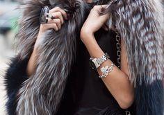 faux fur accessories
