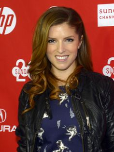 "Anna Kendrick before the screening of ""Happy Christmas"" at the Sundance Film Festival premiere. (Rick Egan  