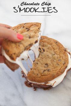 Chocolate Chip S'mookies