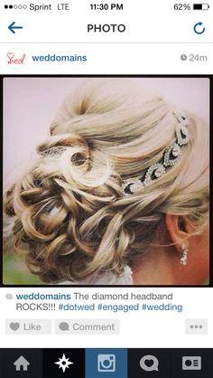 Wedding hair absolutey beautiful