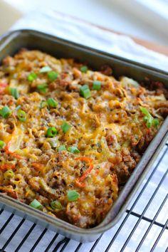 Sausage & Hash Brown Breakfast Casserole