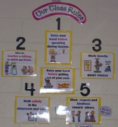 Posters of Classroom Rules