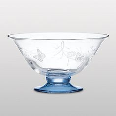 Gorgeous!  Butterfly Meadow Crystal Bowl by Lenox