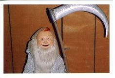 RANKIN/BASS' FATHER TIME aka RED SKELTON from RUDOLPH'S SHINY NEW YEAR!
