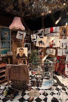 Banksy's Studio Art
