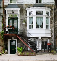 Stairway Entrance, Montreal, Canada