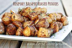 Rosemary Balsamic Roasted Potatoes