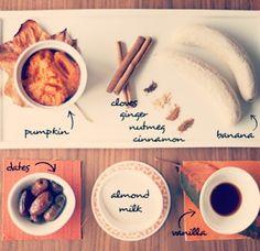 healthi pumpkin, spice smoothi, pumpkin spice