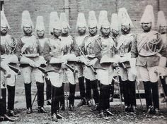 Soldiers of the Household Cavalry, 1861.