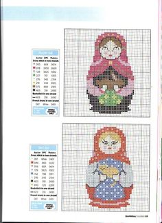 poupée russe secret matriochka, russia, crossstitch, stitch matryoshka, cross stitch, stitch doll, matruska