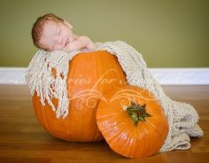 pumpkin baby picture ideas - Google Search