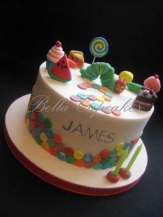 Cake with Fondant Food