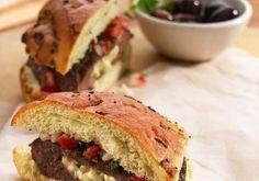 StufZ Presents: Mediterranean Stuffed Burgers