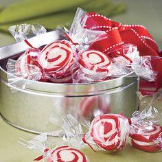 Peppermint Pinwheel Cookies