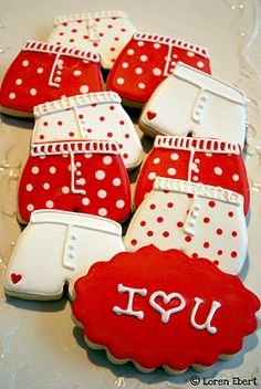 Valentine's Day Boxer Short Cookie Tutorial! cute!