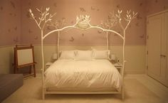 little girls, gwyneth paltrow, beds, tree, dream, bed frame, kid room, bedroom, girl rooms