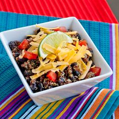 mexican quinoa bowls - healthy, filling and delicious | the improv kitchen