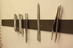 magnetic strip for inside bathroom cupboard or drawer