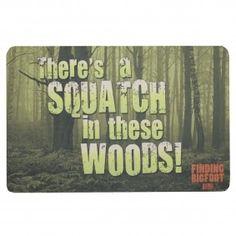 find bigfoot, floor mats, finding bigfoot