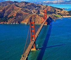 Golden Gate Bridge, San Francisco, CA // Spectacular Bridges Around the World
