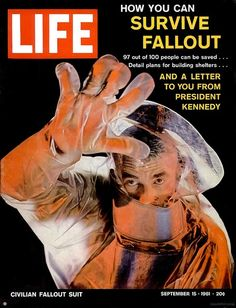 Sept 1961 - Life cover on surviving a nuclear fall out