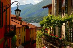 lake como, place, italy, bellagio itali