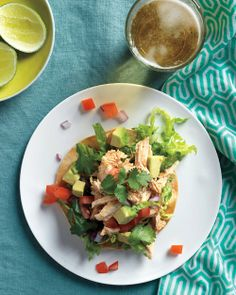 Chicken-Tostada-Salad RECIPE