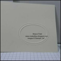 """How to emboss small folders without getting """"folder marks""""...great instructions"""