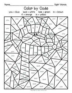 ... Words Color by Codes 5.pdf - Google Drive winter color, colorea con