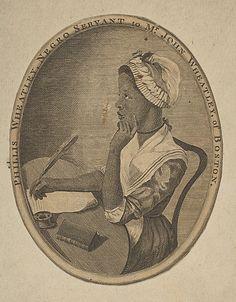 Anonymous, Phillis Wheatley, Negro Servant to Mr. John Wheatley of Boston, ca. 1773, Engraving, Metropolitan Museum of Art