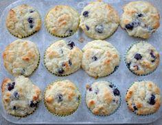 Blueberry muffins with greek yogurt. GOOD.