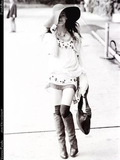 A bohemian Vanessa Paradis